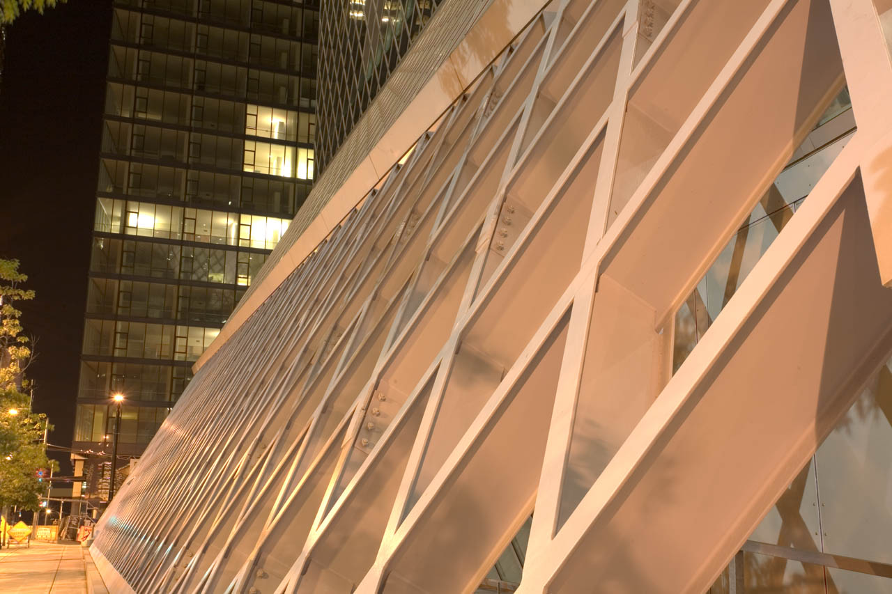 Seattle Library Exterior Geometry