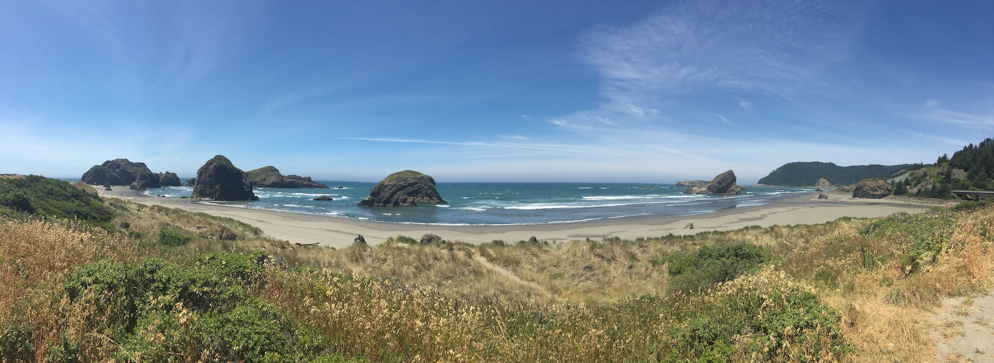 Just south of Cape Sebastian State Park, OR