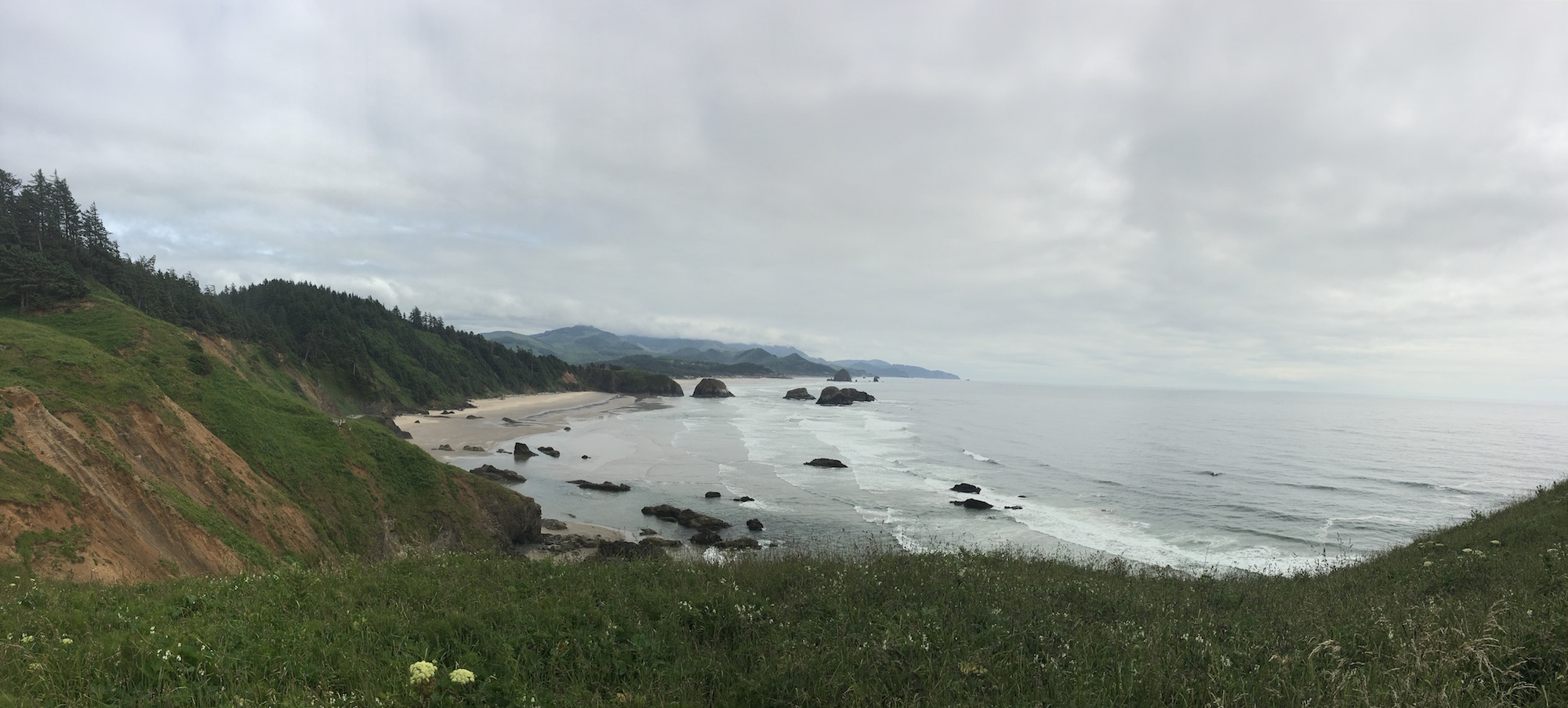 Cannon Beach, taken from Ecola State Park, OR
