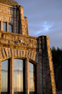 Vista House in Afternoon Light